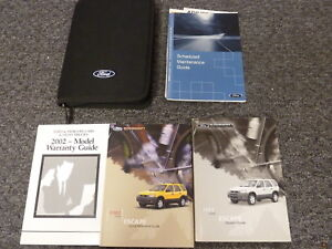 ford escape suv owner owners manual user guide xls