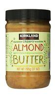 Kirkland Signature Creamy Almond Butter 27 Ounce Free Shipping
