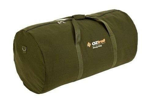 nuovo OZtrail Canvas Swag borsa Single Diuominiione Durable 12 Zips With Heavy Duty Webbing