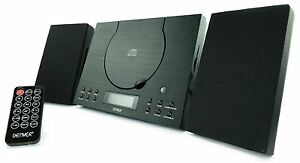 CD-Player-Bluetooth-Denver-MC-5010BT-Mini-HiFi-System-Stereo-Aux-In-Wall-Mount