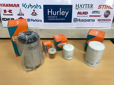 KUBOTA F3890 Genuine Filter Service Kit