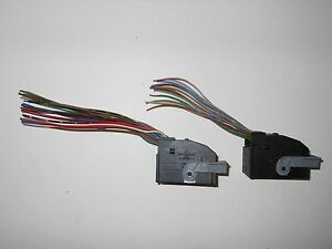 mercedes benz e430 w210 ac climate control wiring connector plugs rh ebay com wiring a 1940 ford heater switch