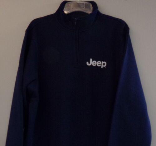 Jeep Mens Heavyweight Embroidered 1//4 Zip Sweatshirt XS-4XL LT-4XLT New