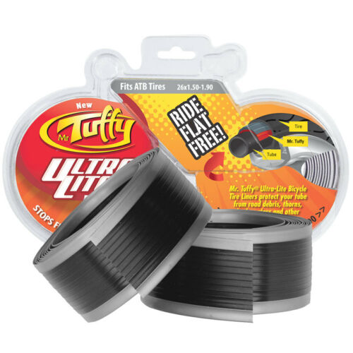 Mr Tuffy Ultra Lite Tire Liner Tube Protector Ul Sil 26x1.5-1.9