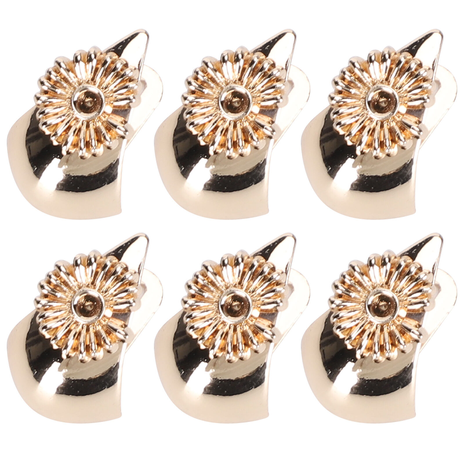 6 Pcs Shoe Clips All-Match Boots Buckle Uppers Bridal Decoration Accessories