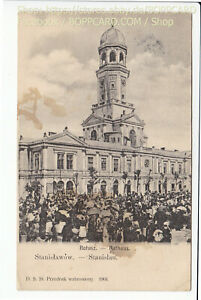 GALIZIEN-STANISLAU-RATHAUS-IWANO-FRANKIWSK-ca1905-Q