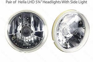 Hella-5-3-4-034-LHD-Halogene-Phare-PROJECTEURS-croisement-Faisceau-Principal-amp-Sidelight