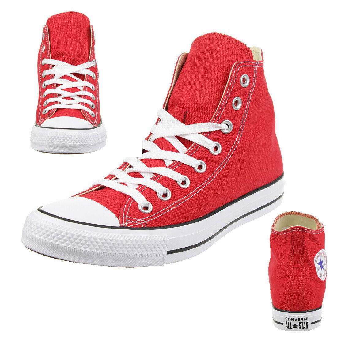 Converse Taylor Tutti Star C Hi Scarpe in Tela Scarpe Chuck Rosso M9621C