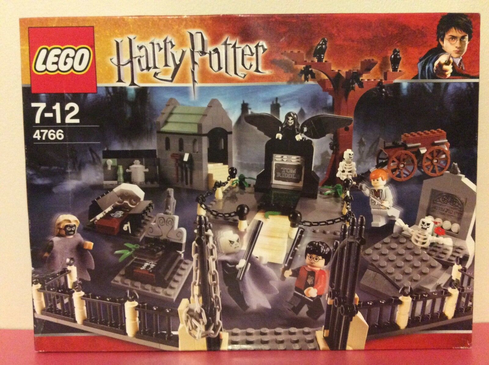Lego HARRY POTTER  4766 Goblet of Fire, The Graveyard Duel - BRAND NEW & SEALED