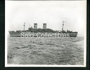 Wwii Us Navy Transport Troop Ship Uss Ap176 Gen James C Breckinridge