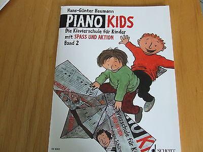 Heumann Klavierschule  ED8302 Klavier Noten Schule Piano Kids  Band 2