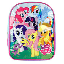 "My Little Pony Preschool Toddler Girls 10 ""mini Backpack Bag NWT"