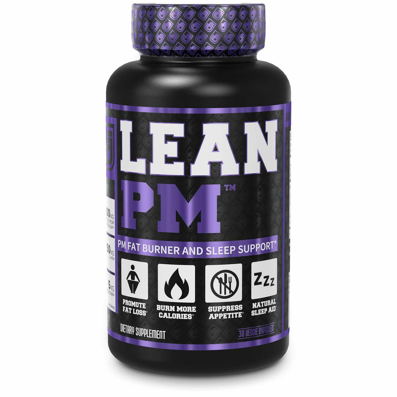 LEAN PM Fat Burner & Sleep Aid: Men & Women Suppress Appetite & LOSE WEIGHT FAST