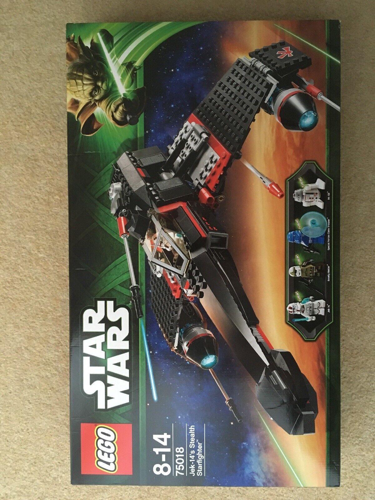 Lego Stern wars - 75018 JEK-14's Stealth Sternfighter - 2013 Set - BNISB