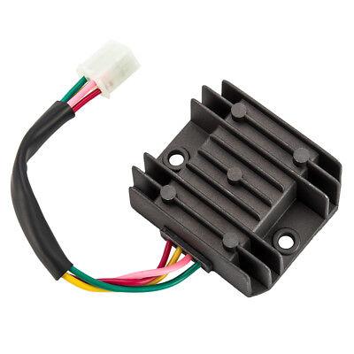 12v dc 4-wire motorcycle regulator rectifier scooters quads + wiring diagram  us   ebay  ebay