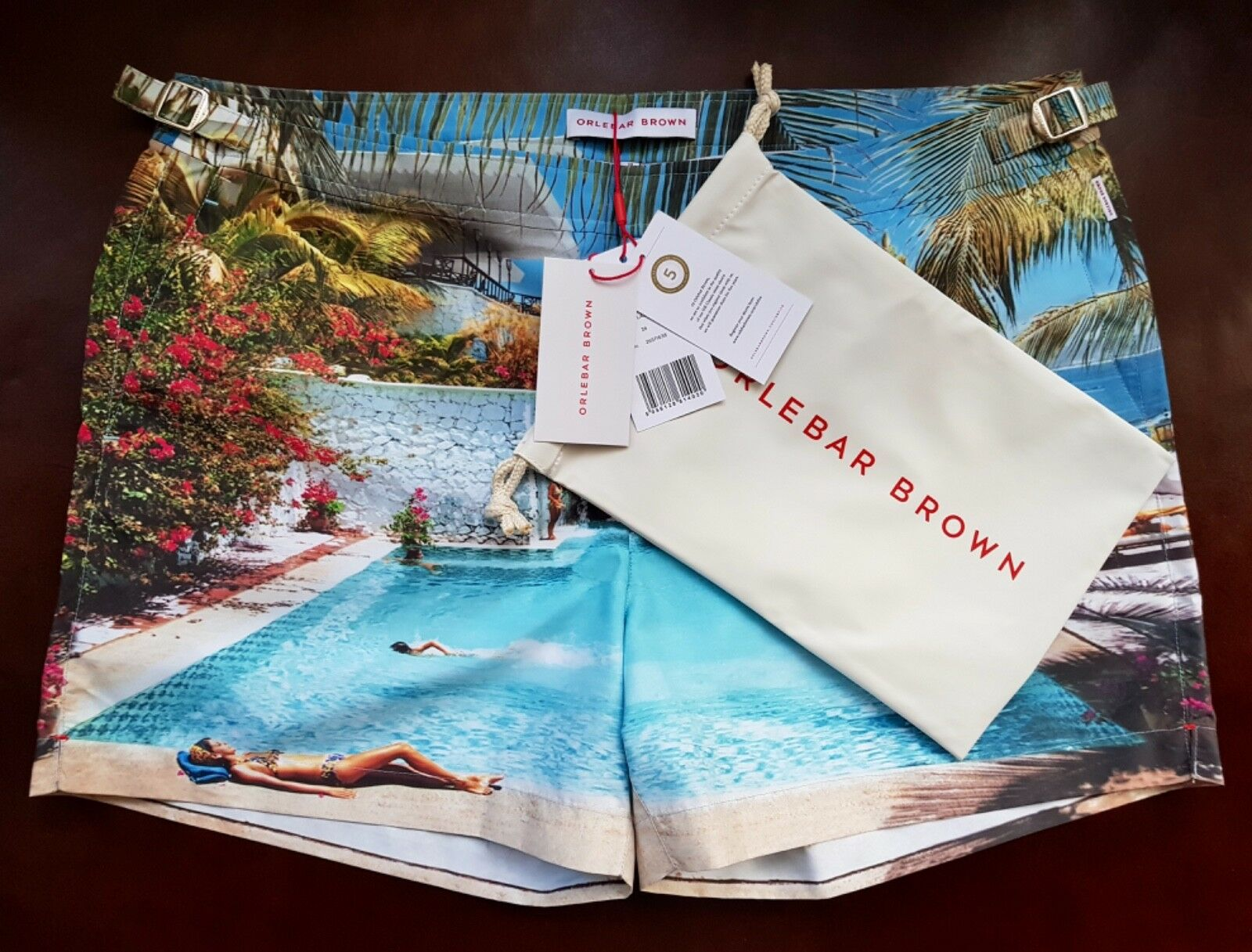 New Orlebar Brown Swim Shorts Setter Las Hadas Photographic Swim Shorts