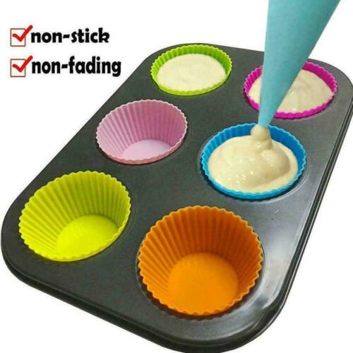 Silicone Reusable Icing Piping Creams Pastry Bag Decorating Cakes DIY