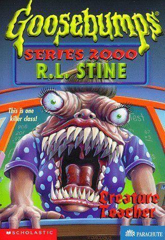 Goosebumps Creature Teacher by R. L. Stine (Paperback, 1998)