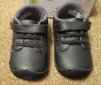 Stride Rite Boys Size 1m Or 3m Black Dress Up Desmond Leather Shoes