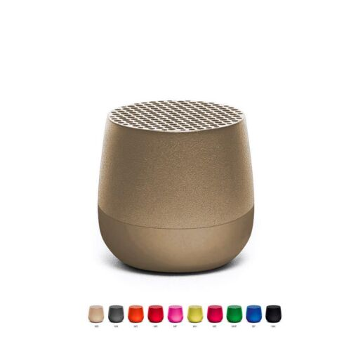 Lexon Mino Bluetooth Mini Speaker Gold
