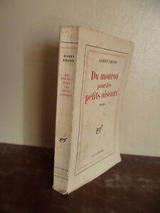 A.Simonin Del Pimpernel Per I Piccoli Uccelli Gallimard Parigi 1960 Spilla ABE
