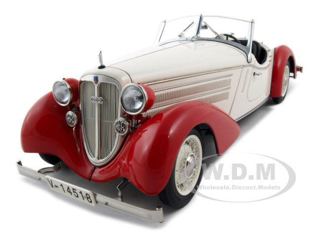 1935 AUDI 225 Front ROODSTER röd  VITE 1  18 DIESbil modelllllerL bil AV CMC M075C