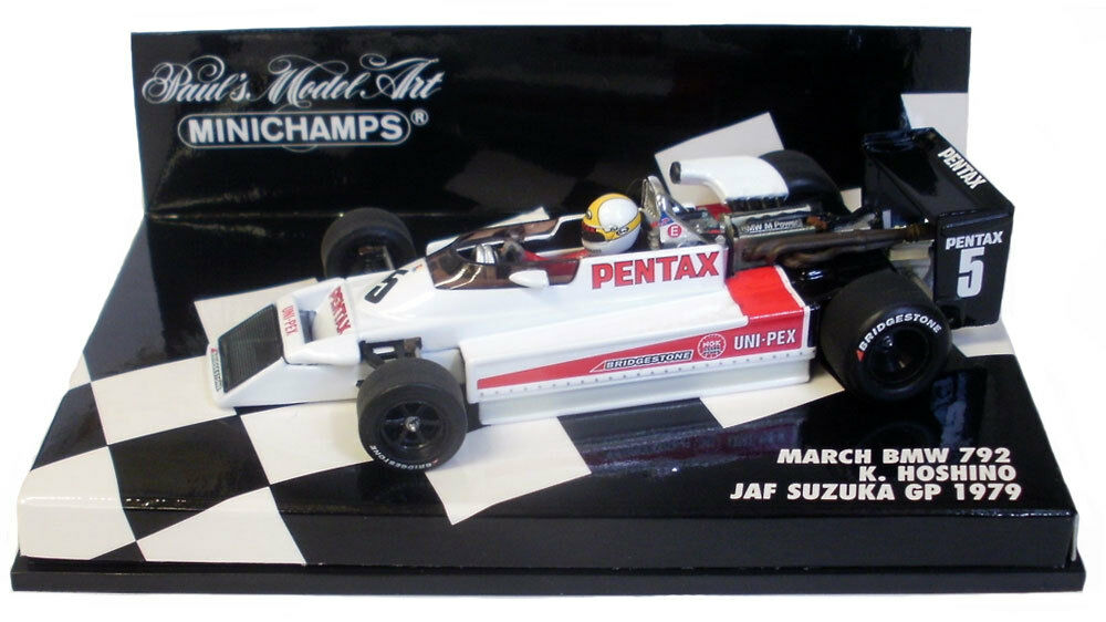 Minichamps March BMW 792 JAF Suzuka GP 1979 - K Hoshino 1 43 Scale