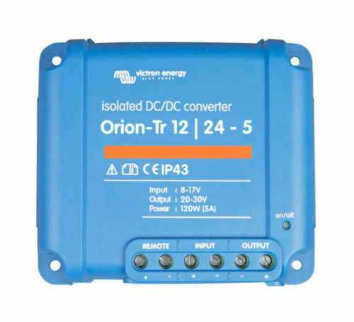 Victron Energy Orion-Tr 12//24-5A 120W Isolated DC-DC converter ORI122410110