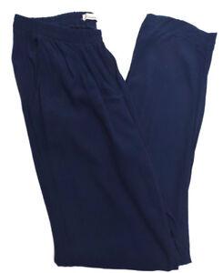 Hammock-amp-Vine-Womens-Elastic-Waist-Size-14-Blue-Pants-Free-Postage
