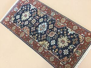 2-039-0-034-X-4-039-0-034-Navy-Blue-Rust-Fine-Geometric-Oriental-Area-Rug-Hand-Knotted-Wool