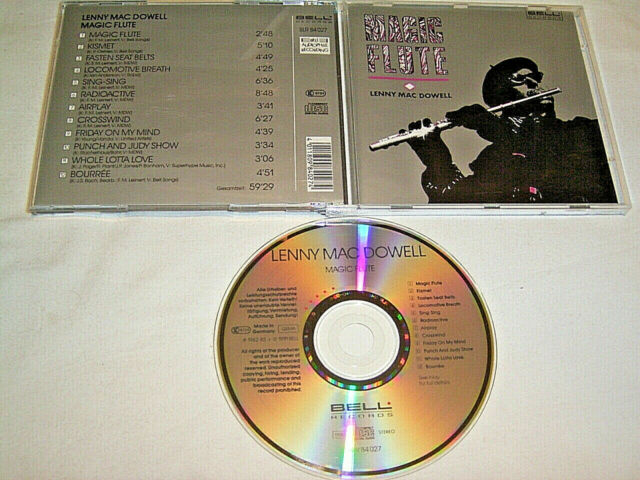 CD Lenny Mac Dowell Magic Flute - Bell Audiophile Recording # R5