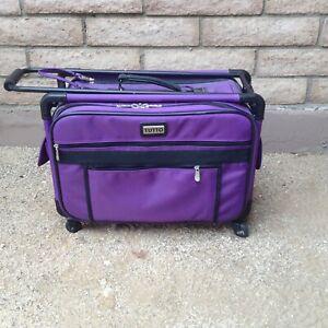 Tutto-Sewing-Machine-Serger-Storage-Case-on-Wheels-4220PMA-M-20-034-Purple-Rolling
