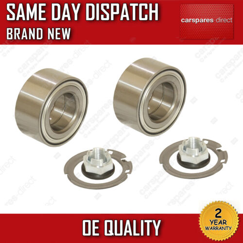 X2 FRONT WHEEL BEARING FIT FOR A VAUXHALL VIVARO 1.9//2.0//2.5 2001/>ONWARDS *NEW*