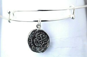 ATOCHA-Coin-Bangle-Adjustable-Sterling-Silver-Sunken-Treasure-Shipwreck-Jewelry