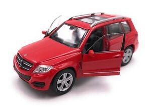 Maquette-de-Voiture-Mercedes-Benz-GLK-Tous-Terrains-Rouge-Auto-Echelle-1-3-4-39
