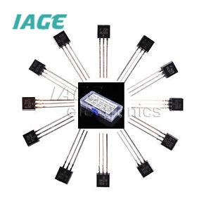 Transistor TO-92 BC184-BC558 BC337 BC547 BC548 BC557 BC327 BC546 BC549 BC184