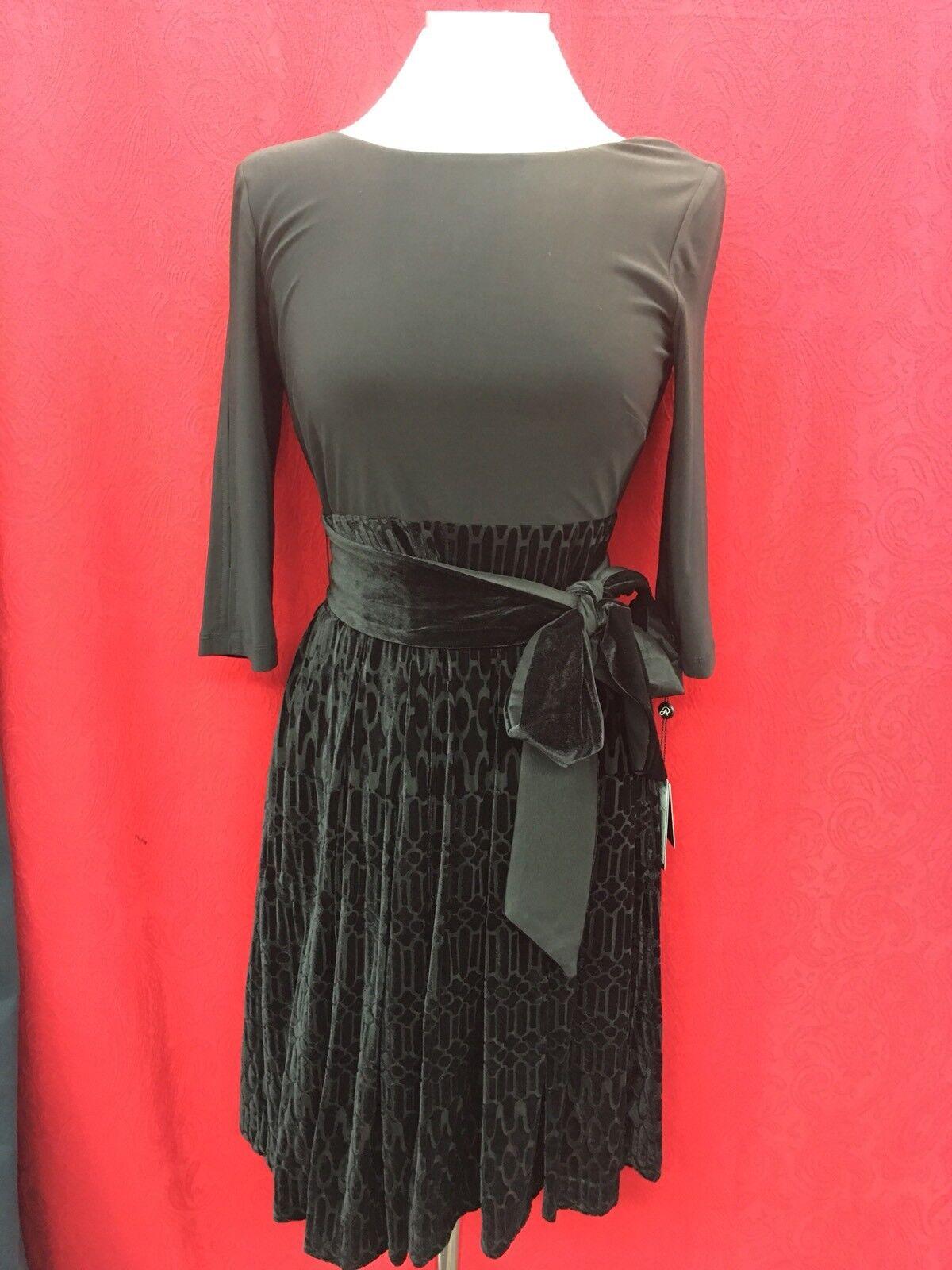 Adrianna Papell Kleid   Velvet Hosen   Größe10   Einzelhandel Schulter   LENGTH39