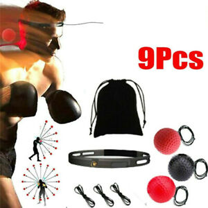 Speed Reflex Fight Ball /& Head Band MMA Boxing Training Punch Boxer Box Exercise