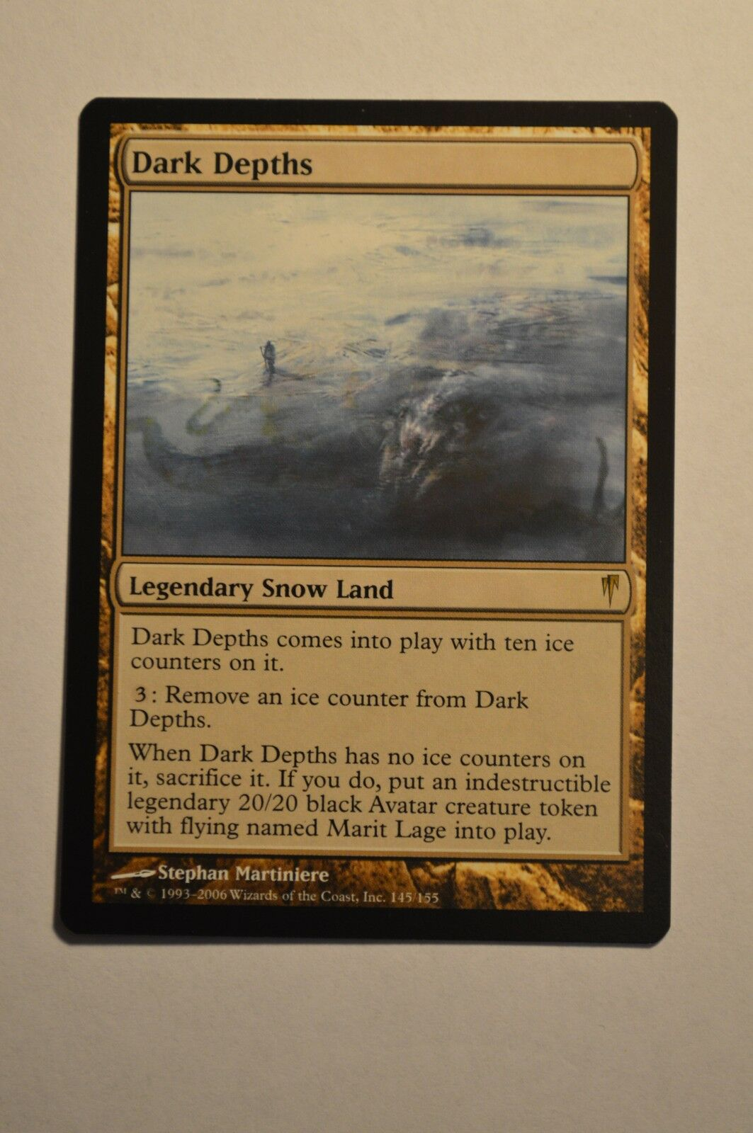 Mtg magic the gathering coldsnap dunklen tiefen