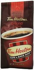 TIM HORTON'S 100% ARABICA MEDIUM ROAST ORIGINAL BLEND GROUND COFFEE 12 OZ