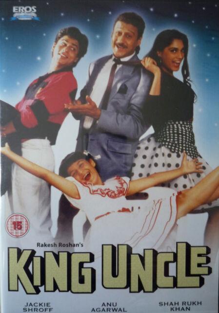 KING UNCLE - EROS BOLLYWOOD DVD - Jackie Shroff, Shah Rukh Kha, Anu Agarwal.
