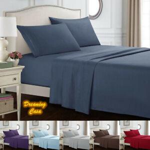 Juego-de-sabanas-Queen-1800-Conde-Conjunto-de-ropa-de-cama-de-4-piezas-juego-de-hojas-de-cama-con