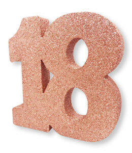 Rose-Gold-Glitter-Table-Decoration-18-Years-8-034-x-8-034-Ladies-18th-Birthday-Party