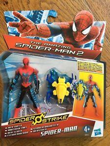 Amazing Spider Man 2 Spider Strike 3 75 Inch Figure Web Shield Spider Man New 5010994777760 Ebay