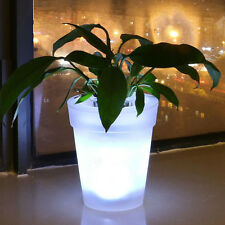 LED Solar Power Flowerpot Garden Landscape Lamp Outdoor Yard Light