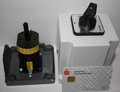 GroßZüGig Sterndreieck Schalter 20 Ampere Neu Im Gehäuse 400 Volt Diversifizierte Neueste Designs
