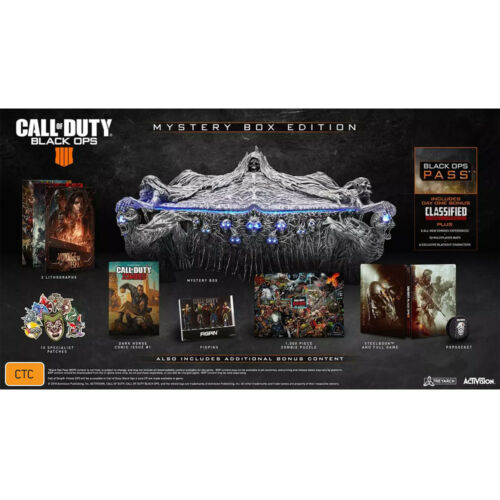Call of Duty Black Ops 4 Mystery Collector's Edition PS4 NEW+Warranty!
