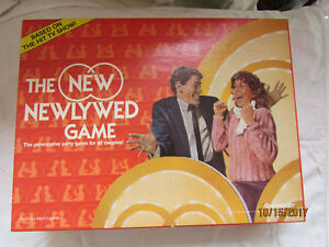 Details about Vintage 1986 Pressman The Newlywed Game For Couples Hit TV  Show Based