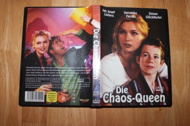 DVD : Die Chaos-Queen Jan Josef Lievers, Veronika Ferres + Simon Glöcklhofer