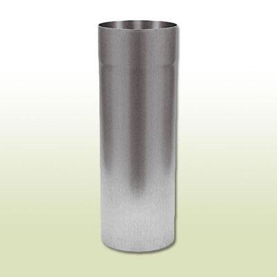 0,5 Meter Länge Gutherzig Aluminium Fallrohr Dn 76